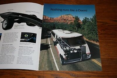 John Deere Motorhome Chassis Americas Chassis Builder 1987