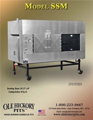 Ole Hickory Smoker Model Ssm