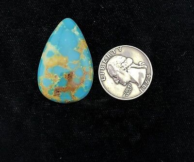 High Grade Stabilized Kingman Turquoise Cab Cabochon