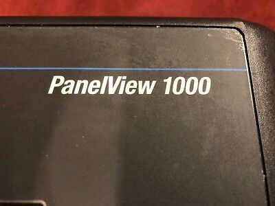 2711-T10C10X SER F FRN 4.48 RS-232 Allen-Bradley Panelview 1000 With Devicenet