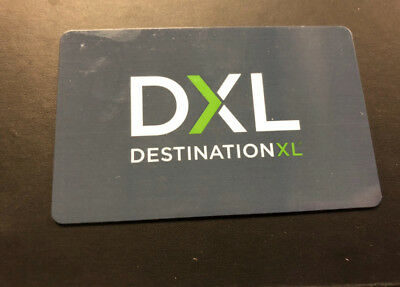 Dxl Gift Card - $136.21 Value Save Over 20% Off Face Value Buy It Now Free Ship