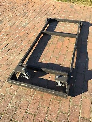 Powermatic 66 Table Saw Table Extension Welded Steel Mobile Base Great Condition