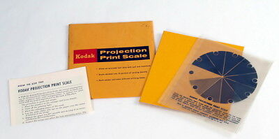 Kodak Projection Print Scale - In Sleeve with Instructions - VERY NICE -