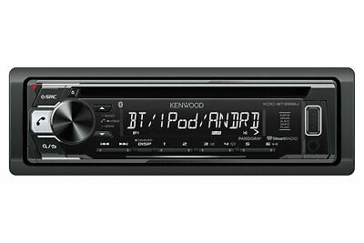 Kenwood 1-DIN Car Stereo CD Receiver Player Bluetooth USB AUX  KDC-BT268U