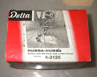 vintage bicycle light Delta Hubba Hubba model A2135