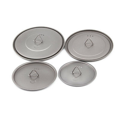 TOAKS Titanium Lid 80mm 95mm 115mm 130mm 145mm 170mm  for TOAKS Cups and Pots