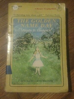 THE GOLDEN NAME DAY : by Jennie D. Lindquist : vintage : Newbery 1966 Paperback