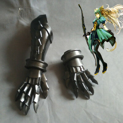 Fate Apocrypha Atalanta Cosplay Prop Accessory Gloves Hand Gauntlet Knuckles