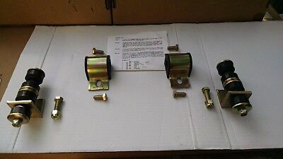 "MG Midget Austin healey sprite front 3/4""  Poly  Anti- Sway Bar mounts"