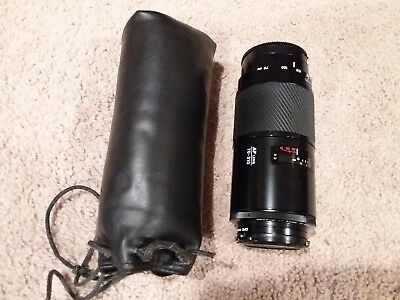 Minolta Maxxum AF ZOOM Lens 70-210MM 1:4 (32) CPC PHASE 2 55mm and Case