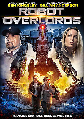 Robot Overlords (DVD, 2015)**FACTORY SEALED****FREE SHIPPING