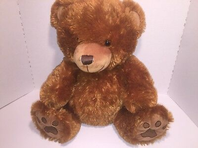 New Gund Slumbers Big Brown Teddy Bear Soft Plush Stuffed Animal Cute Toy Gift