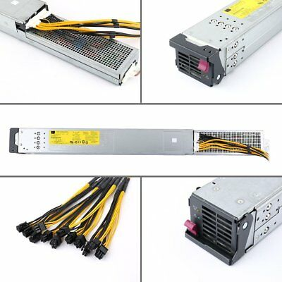 2450W 200-240V Mining Rig Mining Machine Mining Power Supply For Antminer Dv