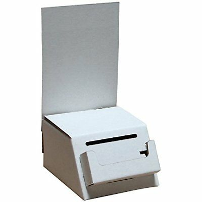 Prime Office Cardboard Ballot & Contest Mini Box with Pocket White | For Ever...