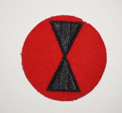 7th Infantry Division Wool Patch WWII US Army P5932