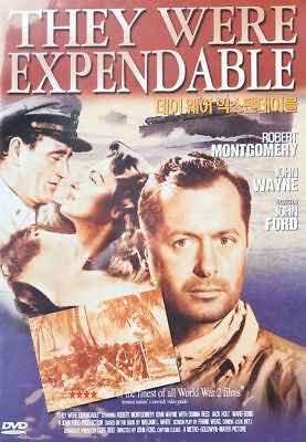 They Were Expendable (1945) John Wayne DVD *NEW