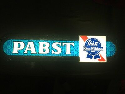 Vintage 1970s Pabst Blue Ribbon PBR beer light-up sign Free shipping Bad mofo
