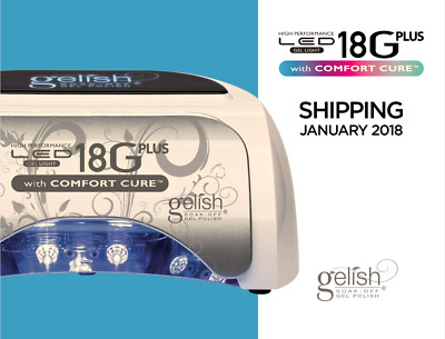 Newest Model GELISH HARMONY 18G PLUS LED with COMFORT CURE US plug 110-240V