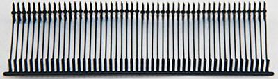 "Amram 1"" Black Standard Attachments- 5000 pcs 50/Clip. For use with all Amram..."