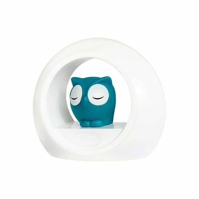 ZAZU Nursery Night Light Decor LOU - Blue (USB & Battery Power)