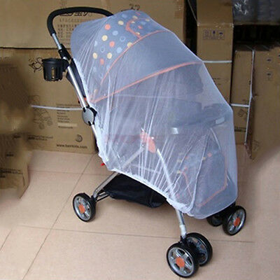 Infants Baby Stroller Pushchair Anti-Insect Mosquito Net Safe Mesh Protector EP_