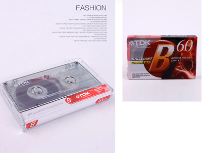 1pcs TDK Blank tapes 60 Minutes repeater tape recorder English band