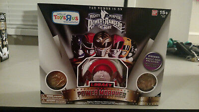 Mighty Morphin Power Rangers Legacy Morpher White Movie Edition