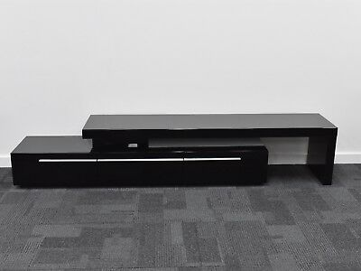 TV stand, TV cabinet, entertainment unit suits LCD, LED, Plasma high gloss black