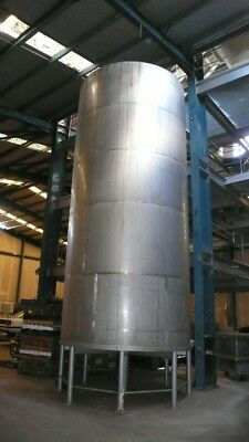 Huge large stainless steel wine water tank 46,500 litres or 12,400 US gallons+