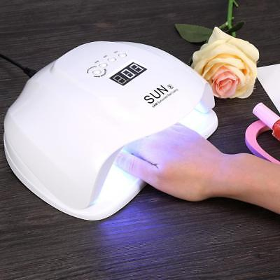 54W Professional UV LED Nail Polish Dryer Light Gel Drying Curing Manicure Lamp