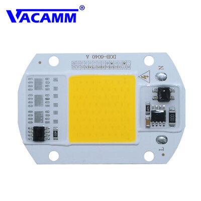 LED Floodlight 20/30/50W Cool/Warm White COB Chip Smart IC Driver Lamp 110v 220v