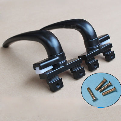 Black Window handle Traditional Window Casement Stays Handles Aluminium alloy