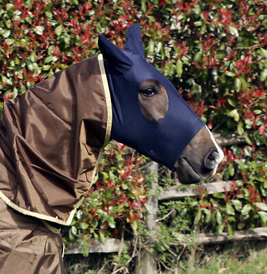 Snuggy Hoods Turn Out Head - Weatherproof Horse Mask  - Breathable & Mud Proof