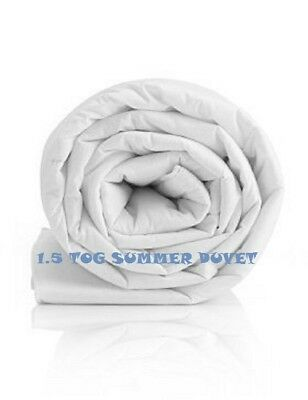 1.5 Tog Luxury Hotel Quality Quilts in Single, Double, King Size