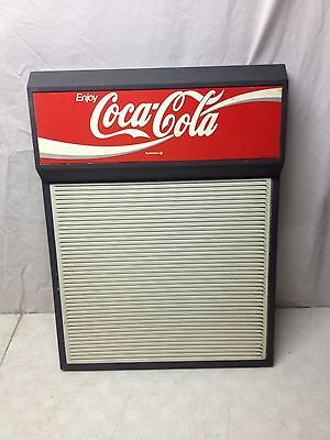 "Vintage Coca Cola Classic Coke 12"" X 15"" Menu Letter Sign Board"