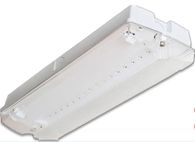 LED Emergency Bulkhead Light Exit Sign IP65 3W Maintained Or Non Maintained