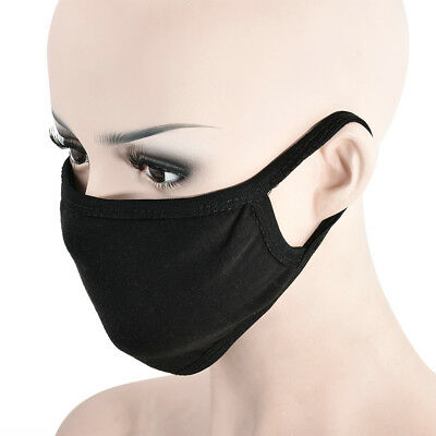 Hot Black Cotton Warm Mouth Respirator Mask Winter Soft Anti-Dust Flu Face Masks
