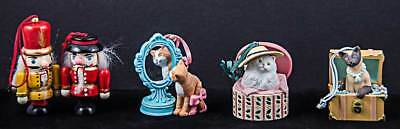 Lot of 5 Avon figurines, NIB, Listed in description.