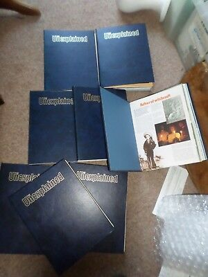 The Unexplained Magazines/Books  Orbis 8 Binders Pages 1 to 3120 + index