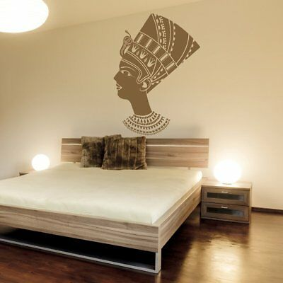 Female Egyptian Wall Sticker Ancient Egypt Wall Decal Bedroom Living Home Decor