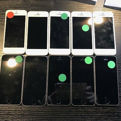 LOT of (10) iPhone 5s *Read Discription* with FREE Shipping