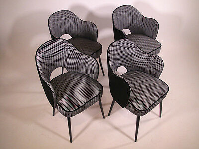 Série de 2 fauteuils bridge - set of 2 bridge armchairs - Saarinen style design