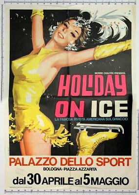 HOLIDAY ON ICE A BOLOGNA, poster 1971, 100x140 cm