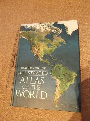 Illustrated Atlas of the World (World Atlas), Reader's Digest Hardback Book