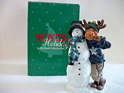Boyds Collection - Frosty with Munchin McMoose