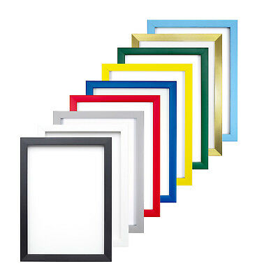 Rainbow Colour Range Picture Photo Poster Frame Fitted With High Quality Glass