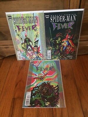 Complete Set Spider-Man Fever #1 2 3 1-3 Marvel Knights Comics (2010) VF/NM