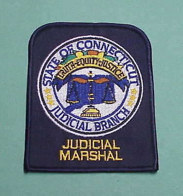Connecticut  Ct  Judicial Branch   Judicial Marshal /  Police Patch  Very Nice!!