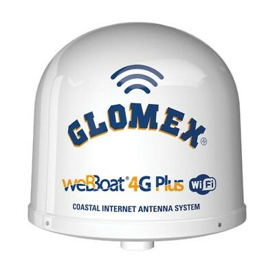 Glomex IT1004PLUS/US WeBBoat Coastal  Dual-Sim 4G Internet Antenna