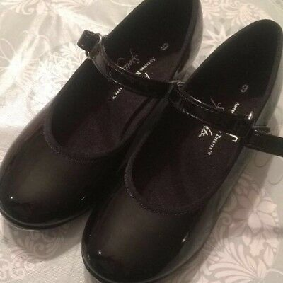 toddler'ssize 9black tap shoes